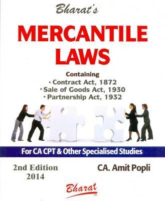 Mercantile Laws - CA CPT
