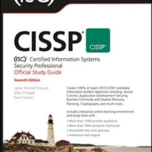 CISSP (ISC)2 Certified Information Systems Security Professional Official Study Guide, 7ed