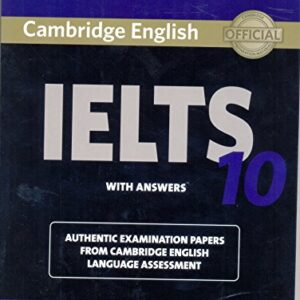 Cambridge IELTS 10 Students Book with Answers (Book & CD)