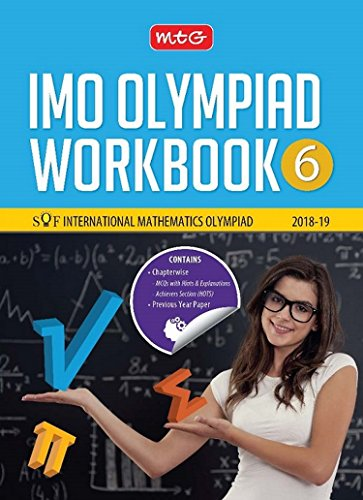 International Mathematics Olympiad Work Book (IMO) - Class 6 for 2018-19
