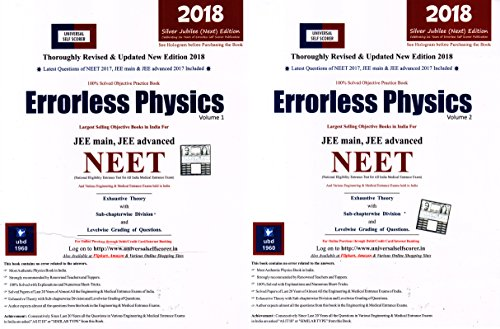 Universal Self-Scorer Physics (English) (Set Of 2 Volumes)