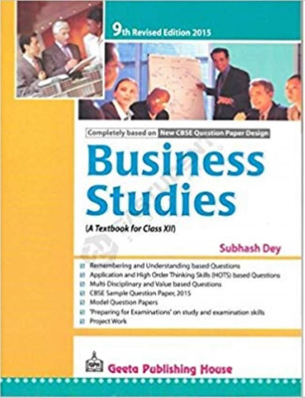 Business Studies: A Textbook for Class XII Paperback