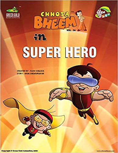 Chhota Bheem in Super Hero - Vol. 36
