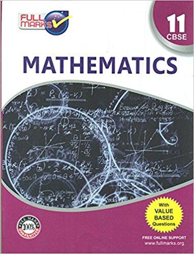 Mathematics Class 11 CBSE (2018-19)