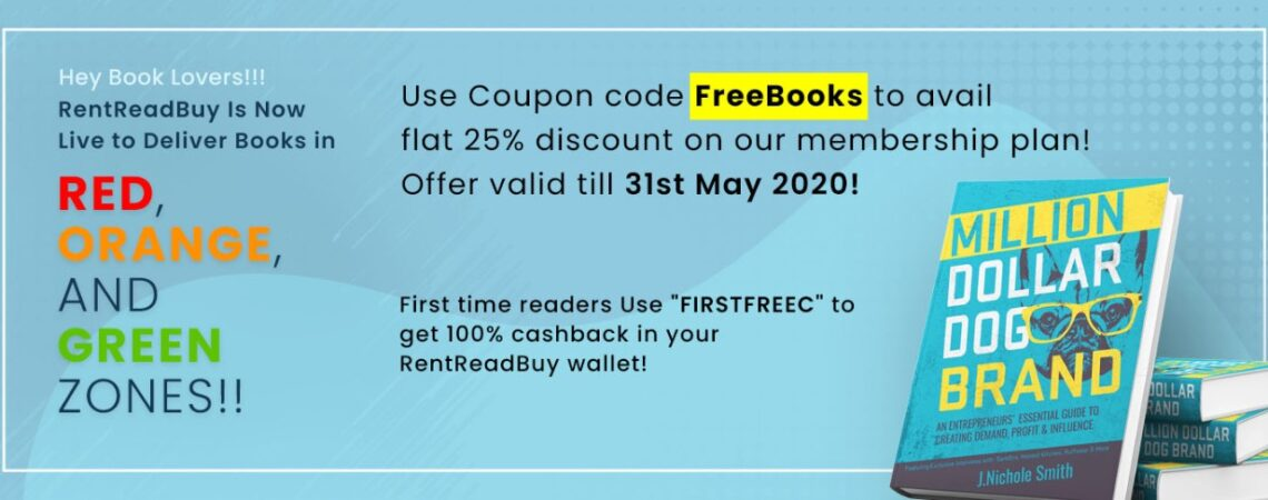 Coupon code FreeBooks to avail flat 25% discount on our membership plan