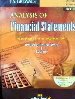 Analysis of Financial statement For Class 12th